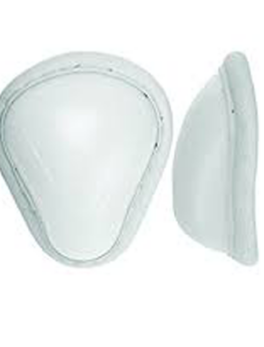 Abdominal Cricket Guards White